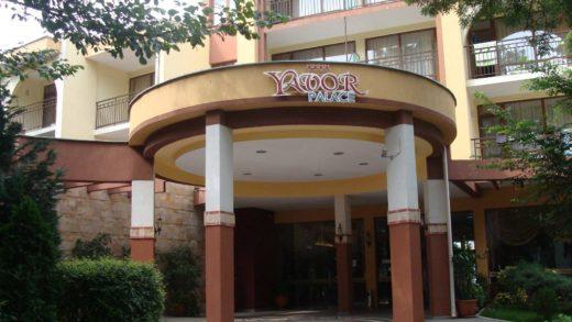 Hotel Yavor Palace w Słonecznym Brzegu