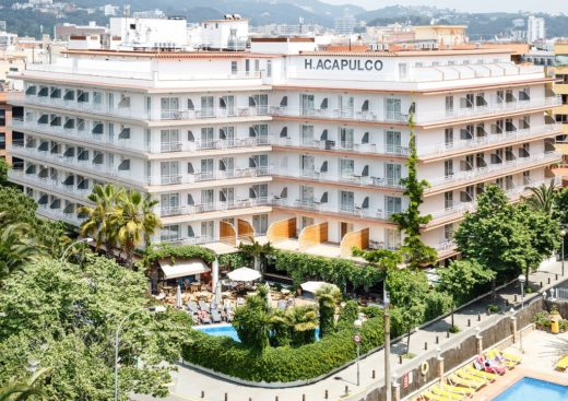 Hotel Acapulco w Lloret de Mar